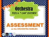 Orchestra Family (Sight & Sound) Assessment - Brass, String FOCUS