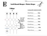 Orchestra G Major Steps Worksheet