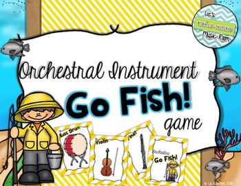 Orchestra Go Fish! Card Game
