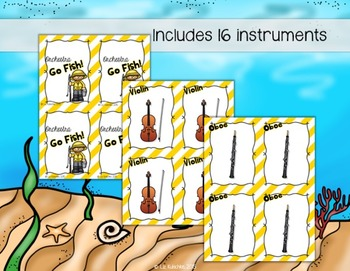 Orchestra Go Fish Card Game