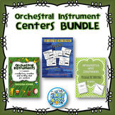 Orchestra Instrument Music Center Activities BUNDLE