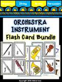 Orchestra Instrument Flash Cards Bundle