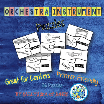 Orchestra Instrument Puzzles