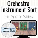 Orchestra Instrument Sort for Google Slides