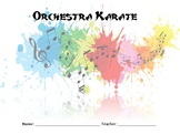 Orchestra Karate - Bass Clef