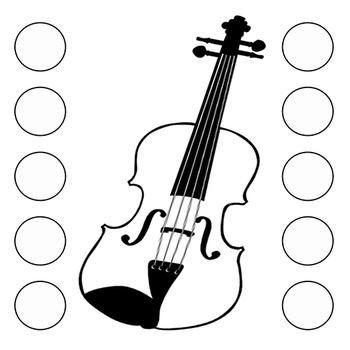 Orchestra Karate Goal Charts