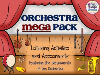 Orchestra MEGA Pack of Listening Activities and Assessments