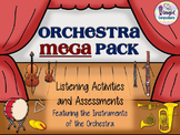Orchestra MEGA Pack of Listening Activities and Assessments #musiccrewsun