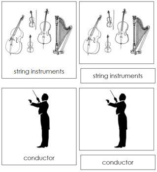 Orchestra Nomenclature Cards