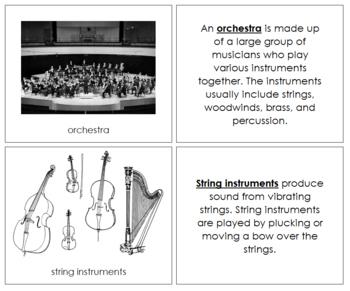 Orchestra Nomenclature Book