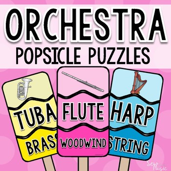 Orchestra Popsicle Puzzles