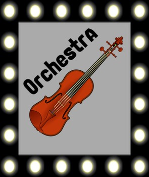 Orchestra Poster