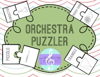 Orchestra Puzzler: Identify and Sort Orchestral Instruments