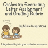Orchestra Recruiting Letter Assignment- Band/ Choir Also