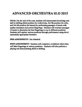 Orchestra SLO:  Shifting