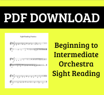 Orchestra Sight Reading - Intermediate