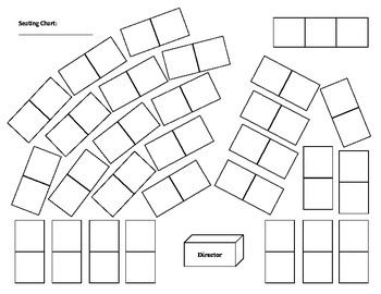 Orchestra string classroom seating chart by orchestra classroom tpt