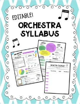 Orchestra Syllabus