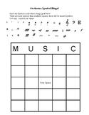 Orchestra Symbol Bingo