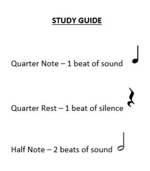 Orchestra Vocabulary Quiz
