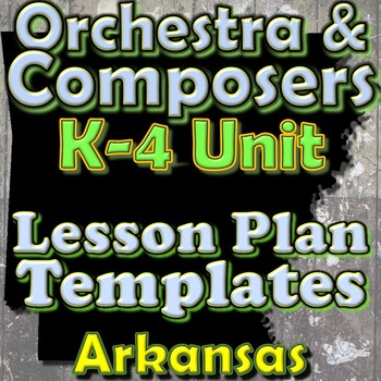 Orchestra & Composers - Lesson Plan Template Bundle - Arka