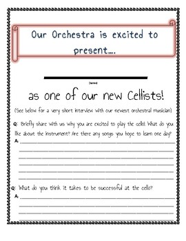 Orchestra is Excited to Present Our New Orchestral Players!