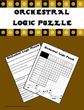 Orchestral Logic Puzzle