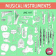 Musical Instruments of the Orchestra Clip Art