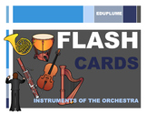 ORCHESTRA - Instrument Flash Cards & Games