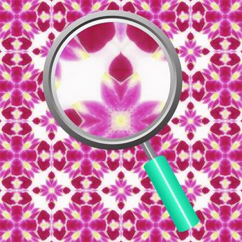 Orchid Magenta Digital Paper / Backgrounds Clip Art Set for Commercial Use