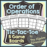 Order of Operations Game {Order of Operations Activity} {P