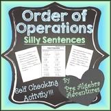 Order of Operations Worksheet {PEMDAS Worksheet} {PEMDAS Activity}