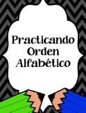 Orden Alfabetico