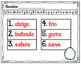 Orden Alfabetico- Invierno