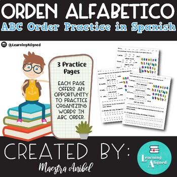 Orden Alfabetico - Orden ABC