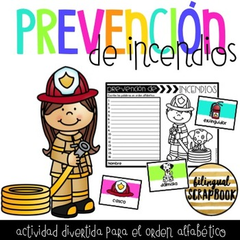 Orden Alfabetico de Prevencion de Incendios (Fire Safety ABC Order)
