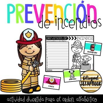 Orden Alfabetico de Prevencion de Incendios (Fire Safety A