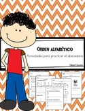 Orden alfabético | Abecedario | alphabetical order in spanish