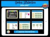 Orden alfabético - Boom Cards