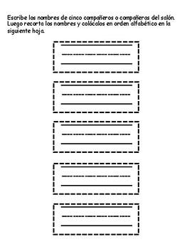 Orden alfabético_Nombre propio y común