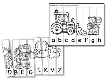 Ordeno el alfabeto