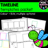 Order Events On A Timeline Template History, Math or Health