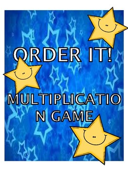 Multiplication Order It!