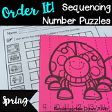 Order It! Spring Sequencing Number Puzzles- Counting Forwa