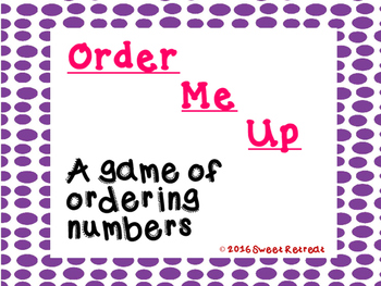 Order Me Up