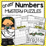 Order Numbers Mystery Puzzles
