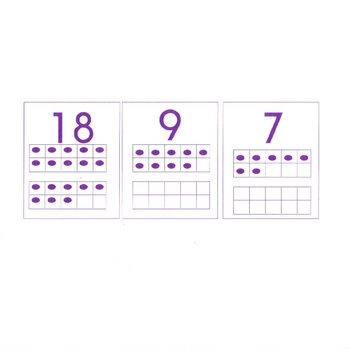 Order Numbers to 20 using dot ten frames