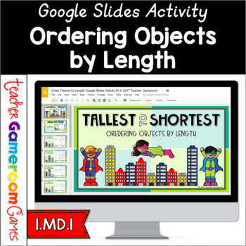 Order Objects by Length Google Activity