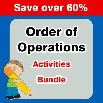 Order Of Operations {Mega Bundle}