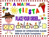 Cinco de Mayo: Order of Operations Math Game